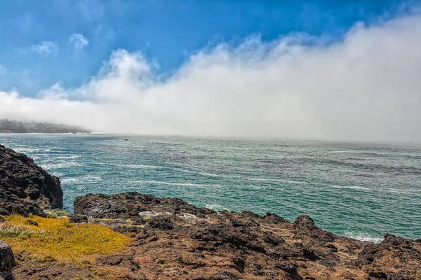 Photograph - Foggy Coast by John M Bailey
