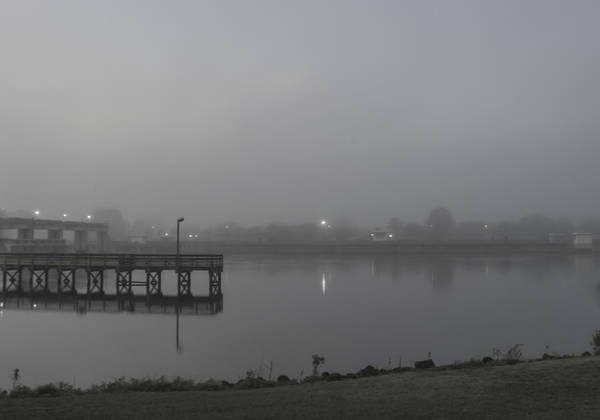 Photograph - Foggy Dawn by Judy Hall-Folde