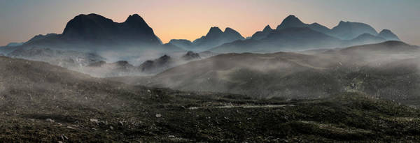 Photograph - Foggy Dawn On Skye Island by Jaroslaw Blaminsky