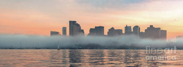 Wall Art - Photograph - Foggy Day In Boston by Isaac S