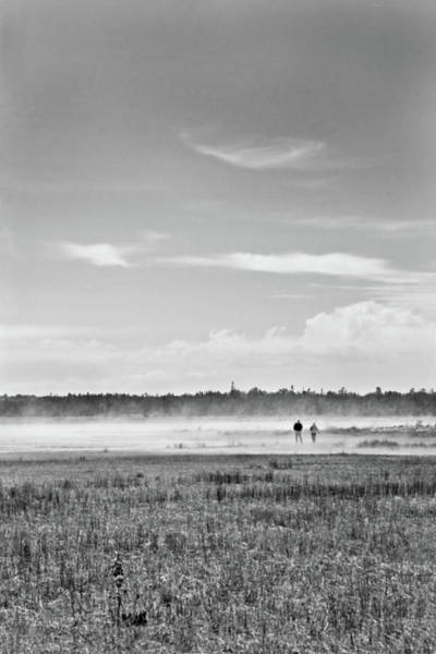 Photograph - Foggy Day On A Marsh by Peter Pauer