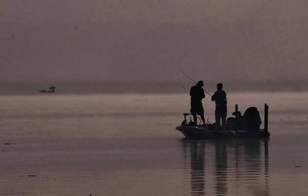 Photograph - Foggy Fishing by Buddy Scott