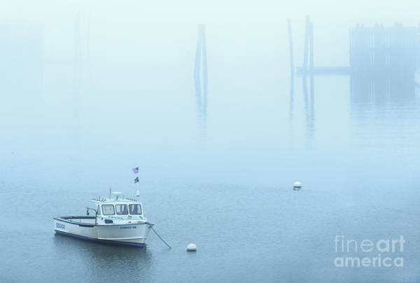 Wall Art - Photograph - Foggy Harbor by Diane Diederich