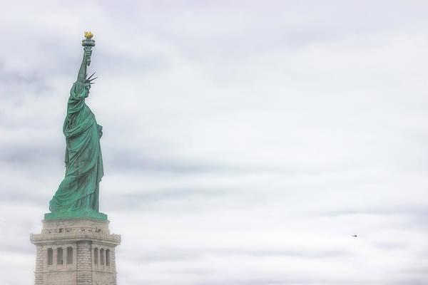 Lady Liberty Photograph - Foggy Liberty by Martin Newman