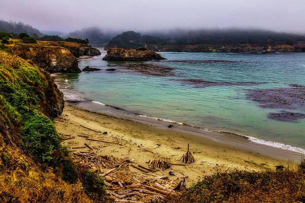 Costal Photograph - Foggy Mendocino Coast by Garry Gay