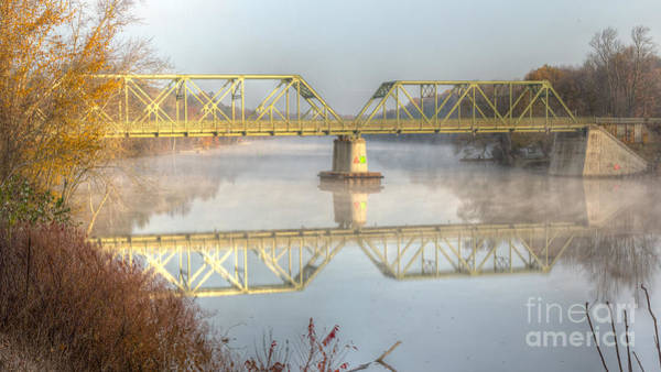 Photograph - Foggy Mornin' Bridge by Rod Best