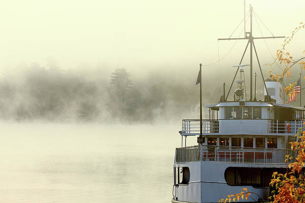 Photograph - Foggy Morning Cruise by Brian Pflanz