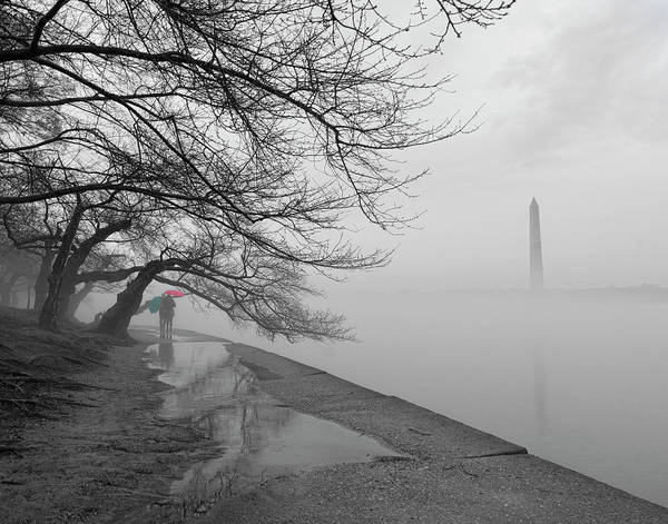 Photograph - Foggy Morning In Dc by David Posey