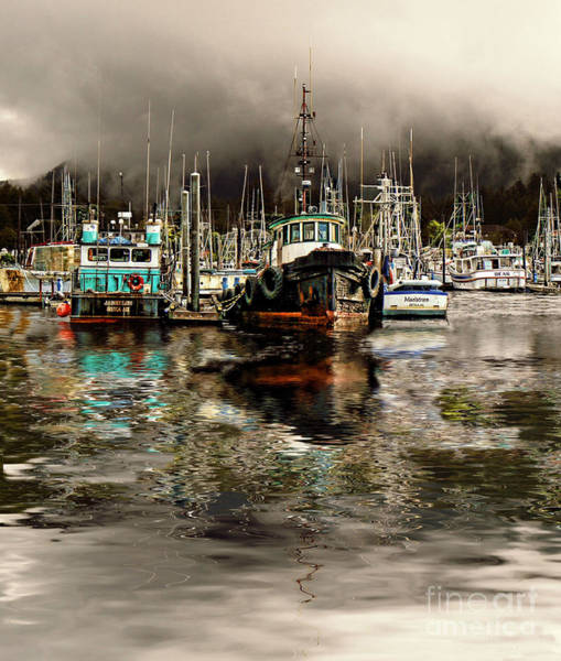 Wall Art - Photograph - Foggy Morning In Sitka Sound by Scarlett Images Photography