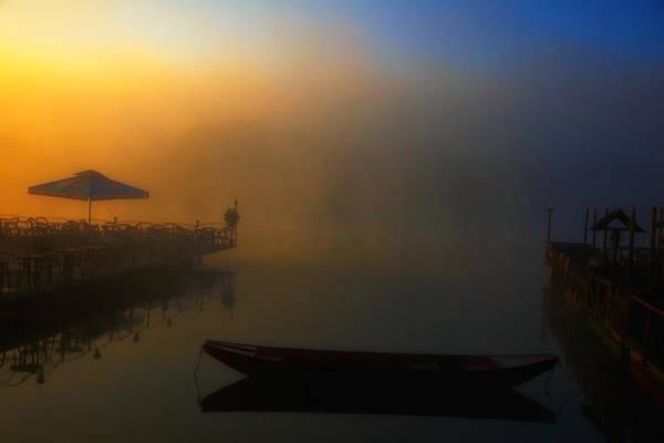 Ceca Wall Art - Photograph - Foggy Morning On River by Svetlana Peric
