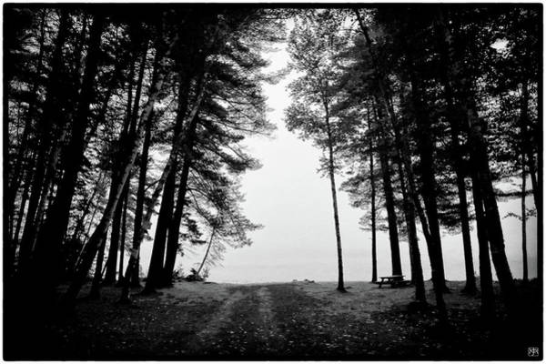 Photograph - Foggy Morning On Wyman Lake by John Meader