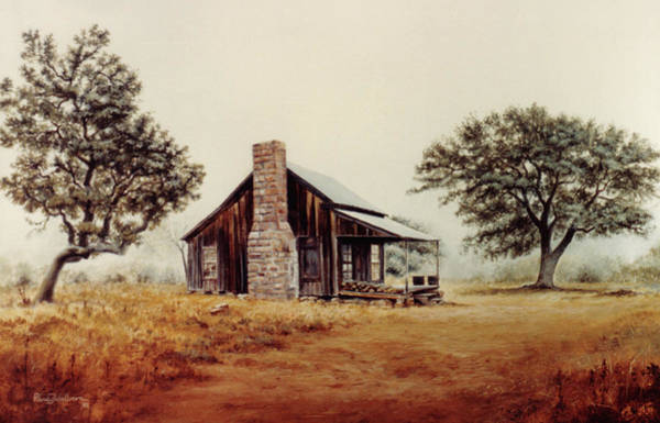 Painting - Foggy Morning by Randy Welborn