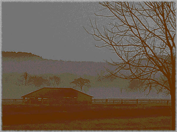 Photograph - Foggy Morning by W And F Kreations