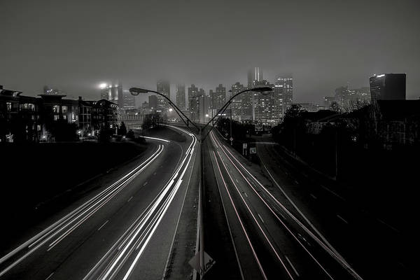 Photograph - Foggy Nights by Mike Dunn