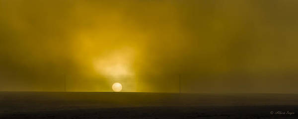 Photograph - Foggy Palouse Sunrise by Albert Seger