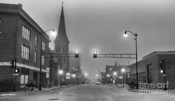 Photograph - Foggy Racine Morning  by Ricky L Jones