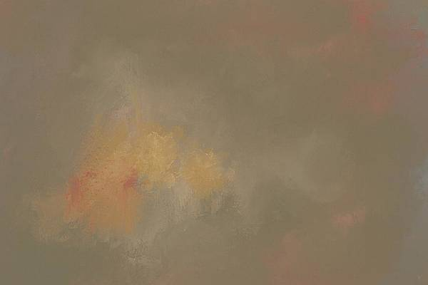 Painting - Foggy September Morning Abstract Painting by Jai Johnson
