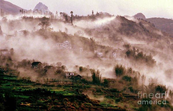 Photograph - Foggy Sound Of Vietnam by Silva Wischeropp