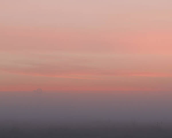 Photograph - Foggy Sunrise -01 by Rob Graham