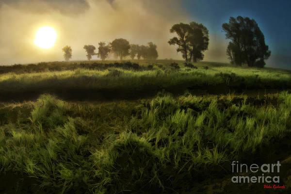 Photograph - Foggy Sunrise by Blake Richards