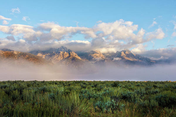 Wall Art - Photograph - Foggy Teton Sunrise - Grand Tetons National Park Wyoming by Brian Harig