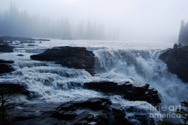 Cesar Wall Art - Photograph - Foggy Waterfall by Cesar Marino