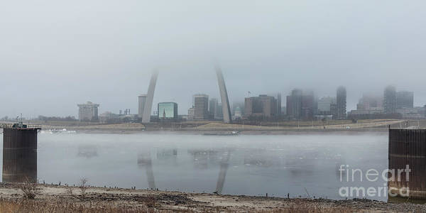Photograph - Foggy Winter Morning In St Louis by Garry McMichael