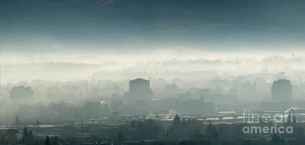 Wall Art - Photograph - Foggy Yakima Morning by Mike Dawson