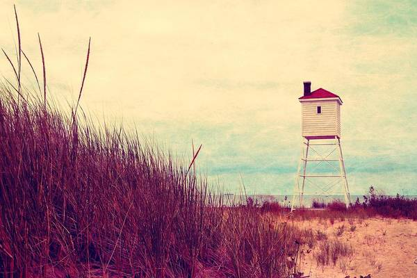 Photograph - Foghorn At Big Sable Point by Michelle Calkins