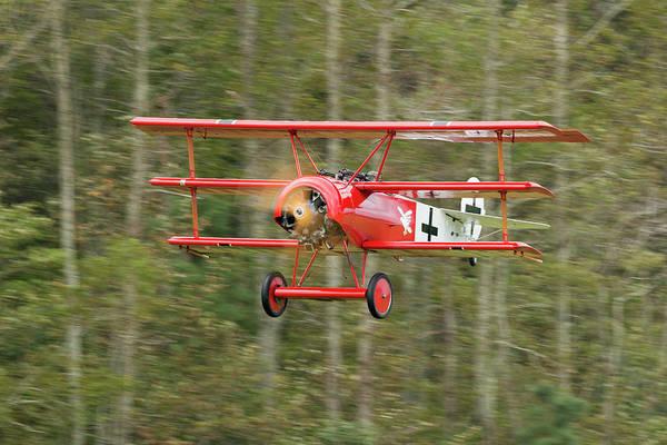 Photograph - Fokker Dr.i Flyby by Liza Eckardt