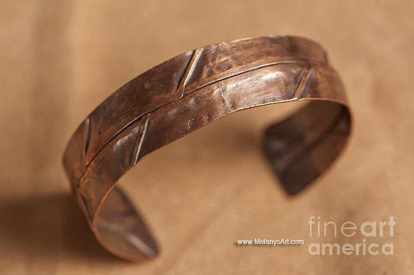 Jewelry - Folded Copper Bracelet by Melany Sarafis