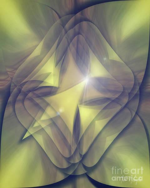 Digital Art - Folded Flower 1 by Tim Wemple
