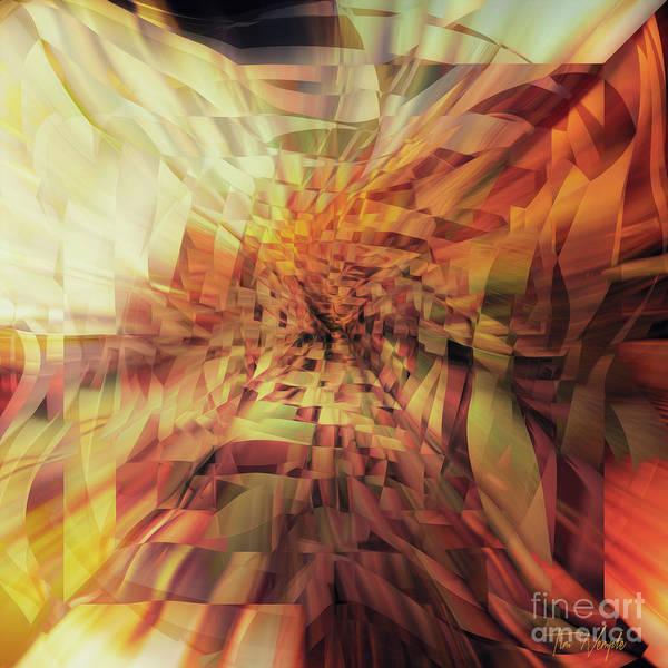 Digital Art - Pieces 2 by Tim Wemple