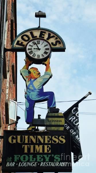 Wall Art - Photograph - Foley's Sign, Dublin by Poet's Eye