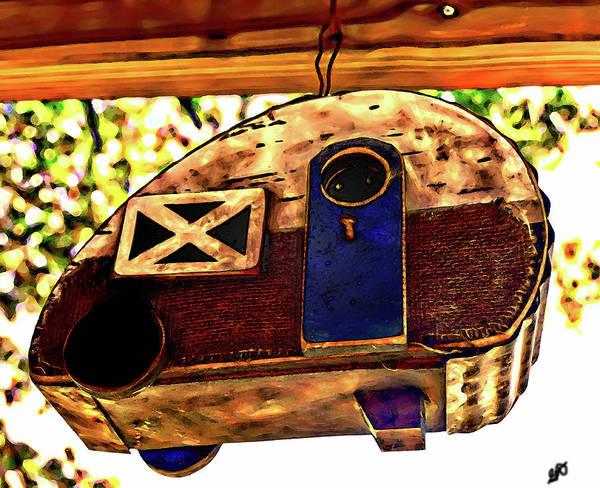 Photograph - Folk Art Cookie Cutter Camper by Gina O'Brien