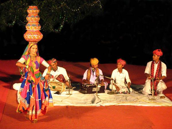Folk Dances Photograph - Folk Dance by Art Spectrum