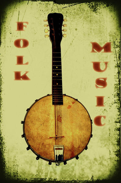 Photograph - Folk Music by Bill Cannon
