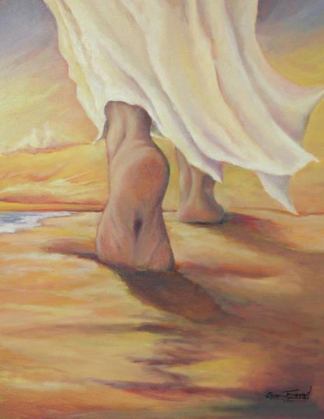 Follow Me Painting - Follow Me by Beau Ettestad