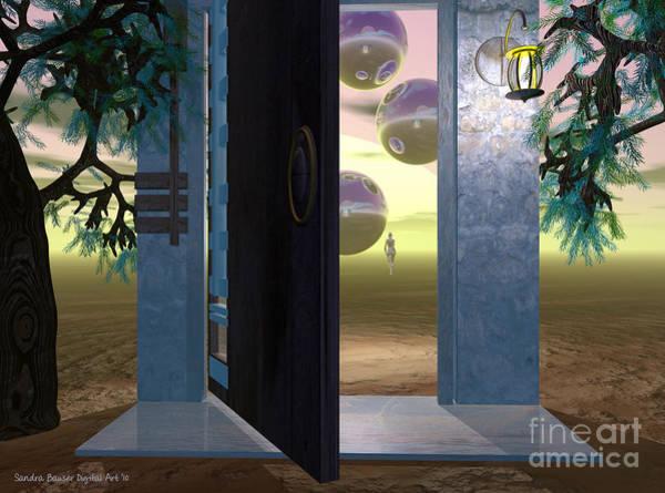 Digital Art - Follow Me by Sandra Bauser Digital Art