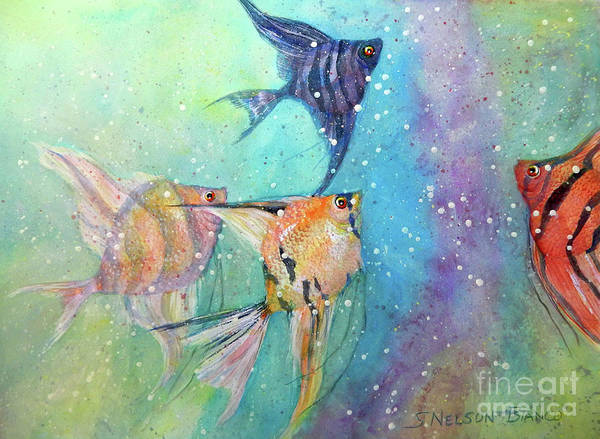 Wall Art - Painting - Follow Me by Sharon Nelson-Bianco