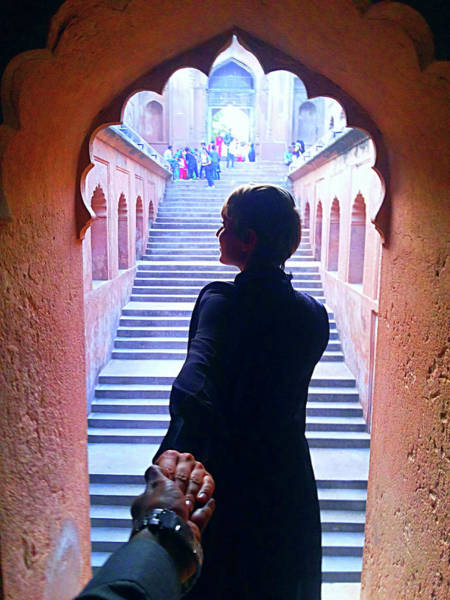 Photograph - Follow Me To Bada Imambara by Atullya N Srivastava