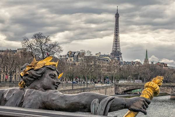Photograph - Follow Me To The Eiffel Tower by Joan Carroll