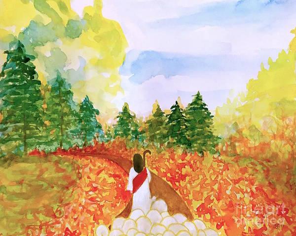 Follow Me Painting - Follow Me  by Wonju Hulse