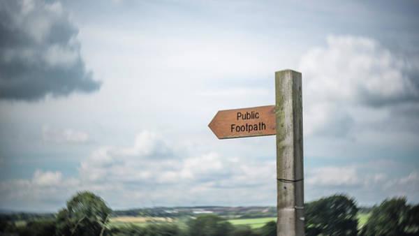Photograph - Follow The Footpath by Raelene Goddard