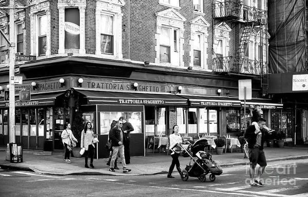 Photograph - Follow The Leader On Carmine Street by John Rizzuto
