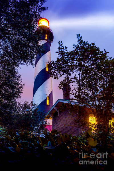 St Augustine Photograph - Follow The Light by Marvin Spates