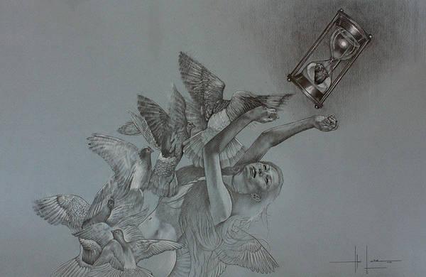 Filipino Drawing - Follow Your Heart by Hari Lualhati