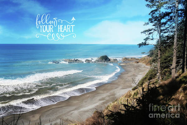 Wall Art - Photograph - Follow Your Heart by Sylvia Cook
