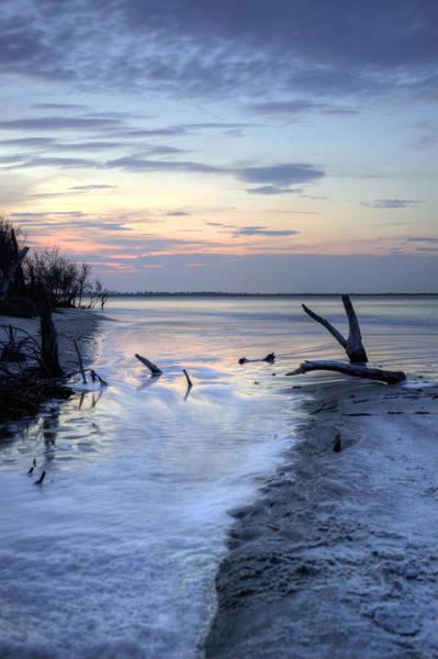 Lowcountry South Carolina Photograph - Folly Beach At Dusk II by Dustin K Ryan