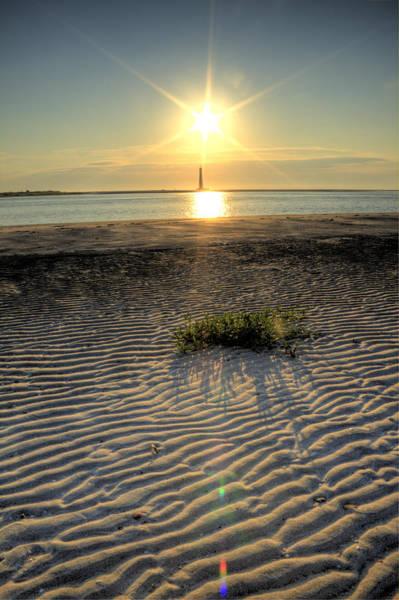 Photograph - Folly Beach First Light Over The Morris Island Lighthouse by Dustin K Ryan